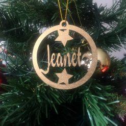 Bolas navideñas personalizadas